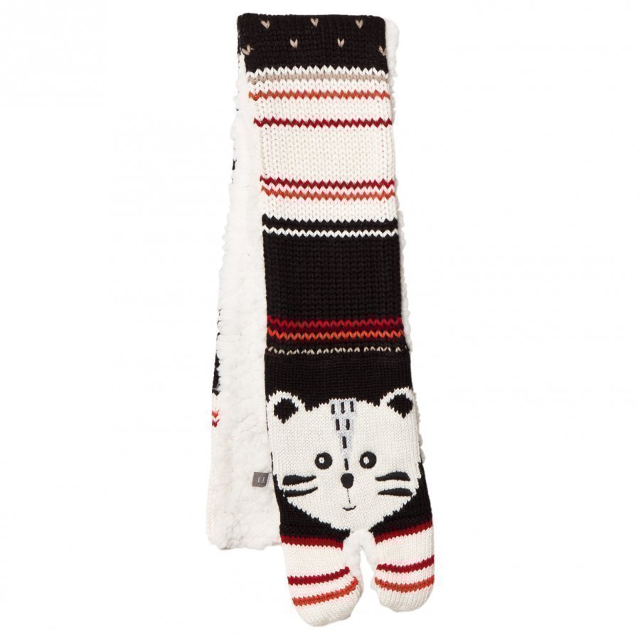 Catimini Knit Tiger Scarf Pipo