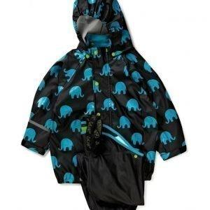 CeLaVi Rainwear Set W. Elepant Print