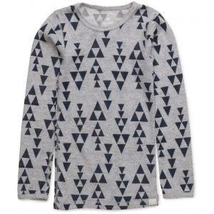 CeLaVi Undershirt Ls Ao-Printed Wool