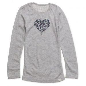 CeLaVi Undershirt Ls -Printed Wool