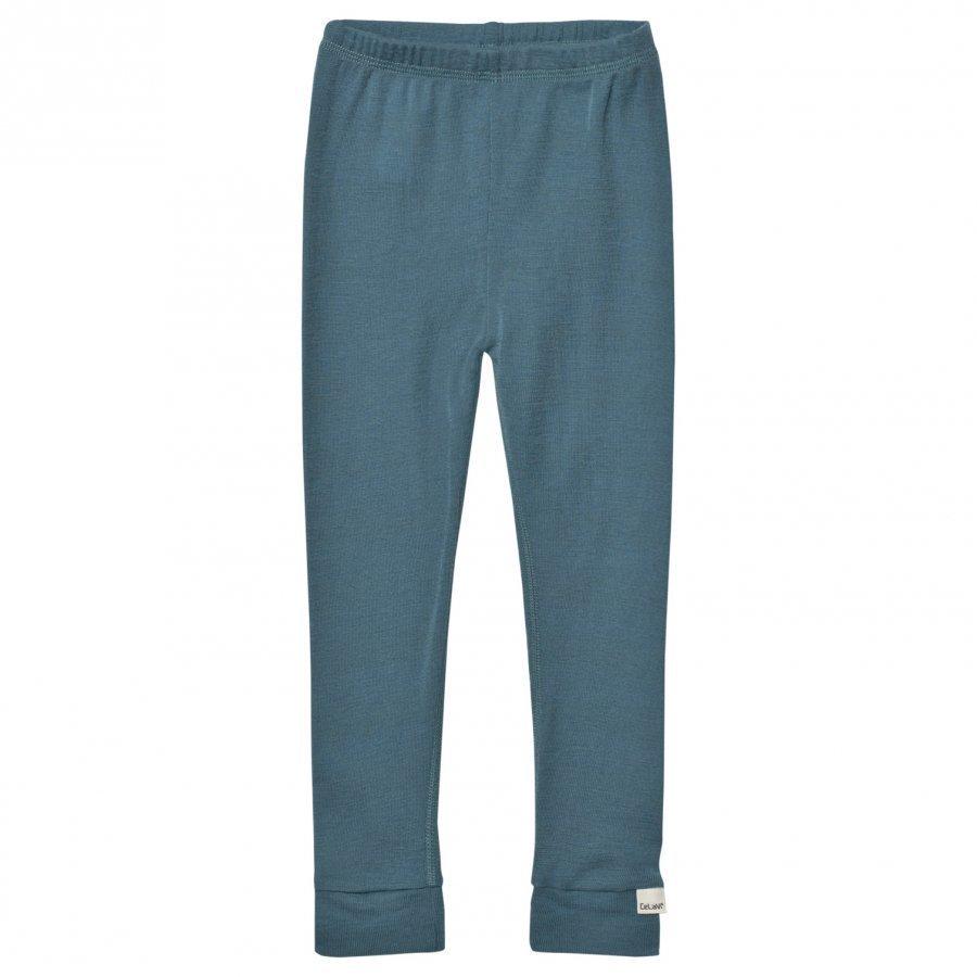 Celavi Merino Wool Leggings Goblin Blue Pitkät Alushousut