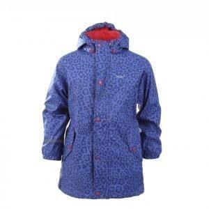 Celavi Rain Jacket W Fleece Sadetakki Lila