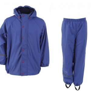 Celavi Rainwear Set W Fleece Sadetakki Lila
