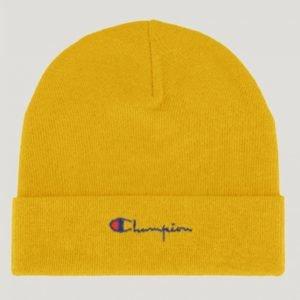 Champion Beanie Cap Hattu Keltainen
