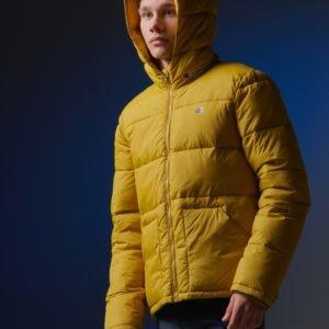 Champion Hooded Jacket Takki Keltainen
