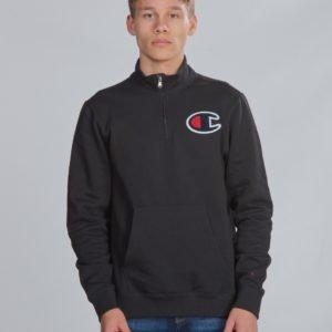 Champion Rochester Half Zip Sweatshirt Neule Musta