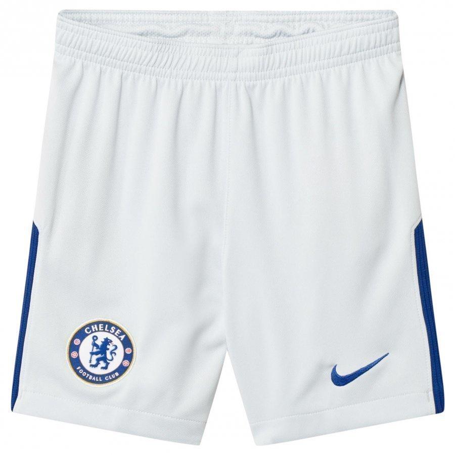 Chelsea Fc Silver Junior Stadium Shorts Jalkapalloshortsit