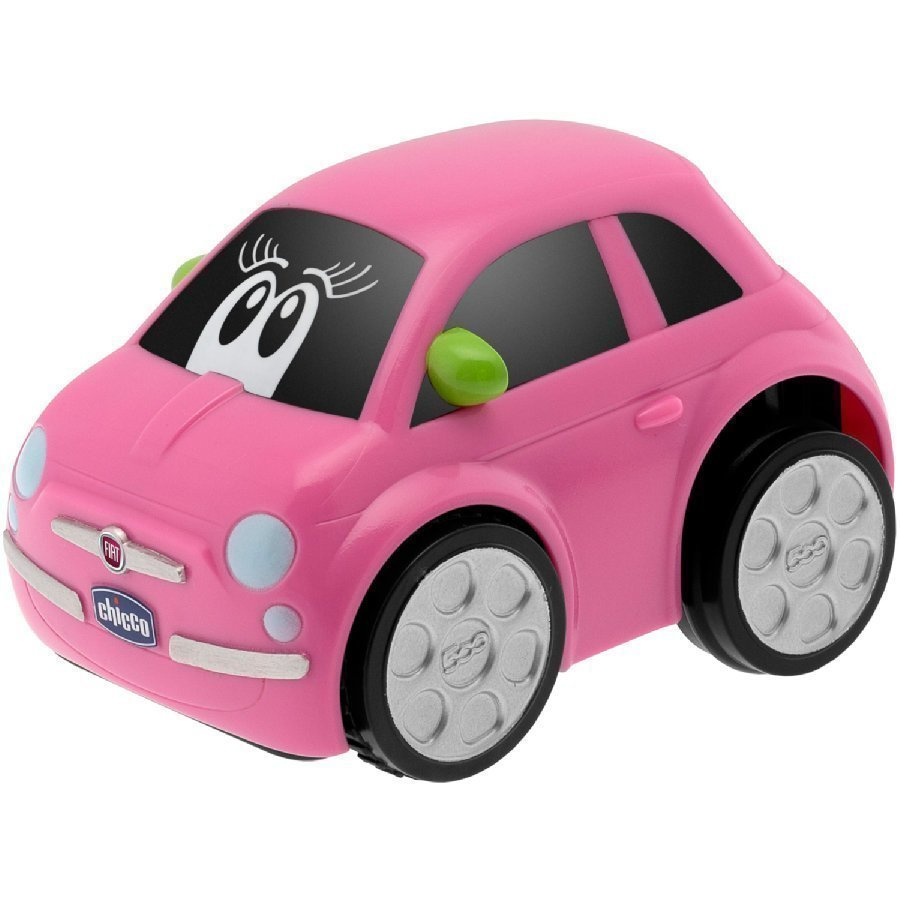 Chicco Auto Turbo Touch Fiat 500 Pinkki