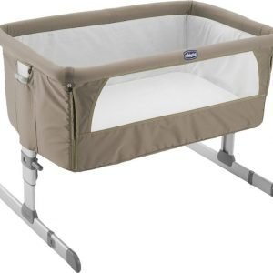 Chicco Bedside Crib Next2me Dove Grey
