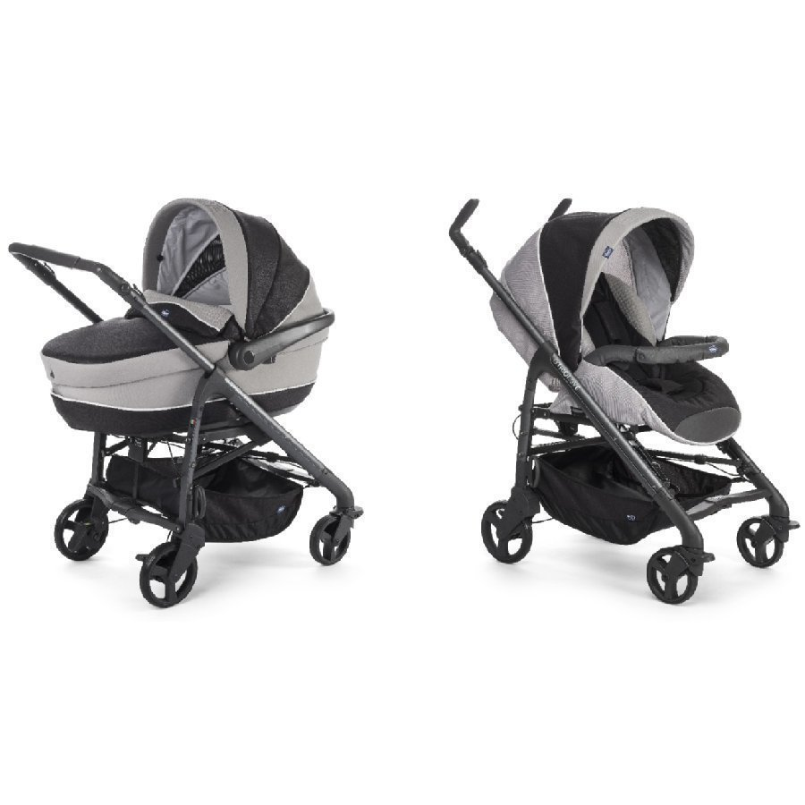 Chicco Duo System Love Motion Black Night Lastenvaunut