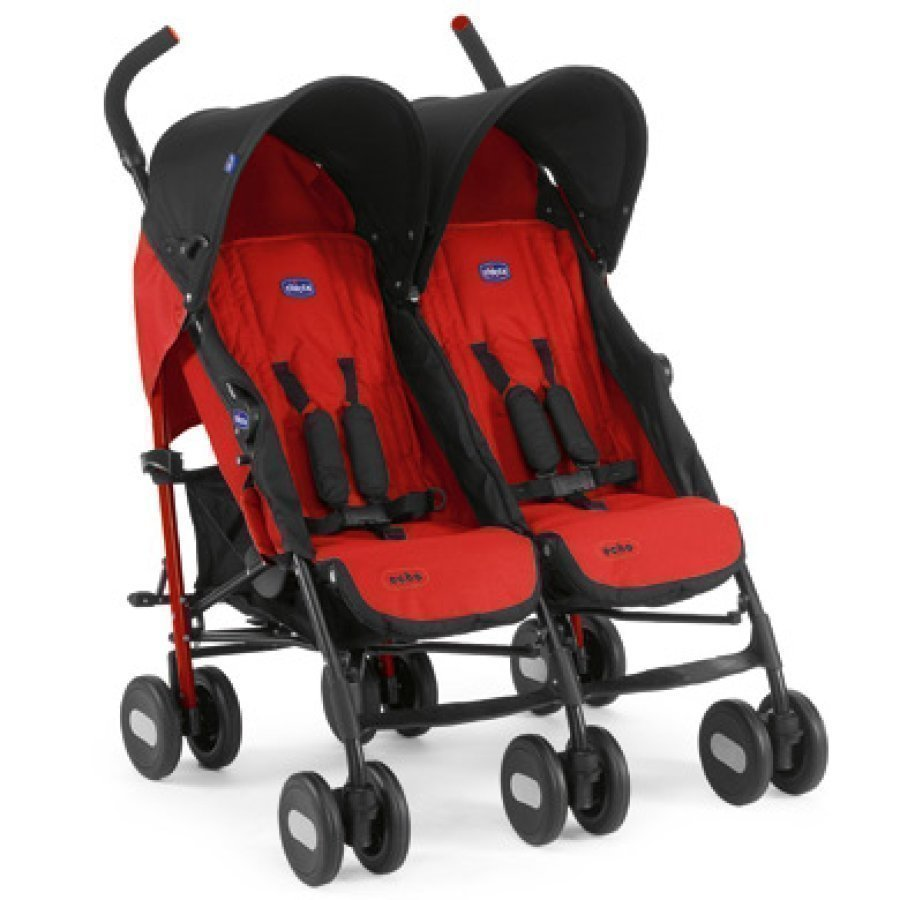 Chicco Echo Twin Garnet Matkarattaat