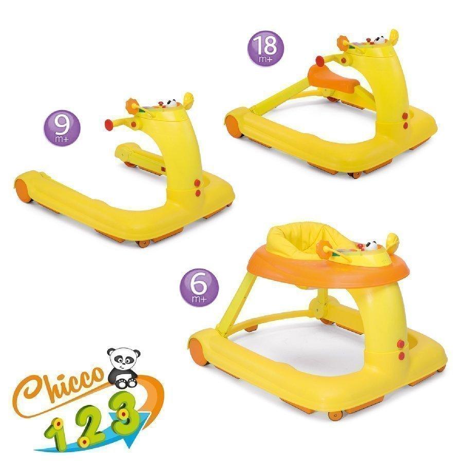 Chicco Kävelytuoli 123 Oranssi