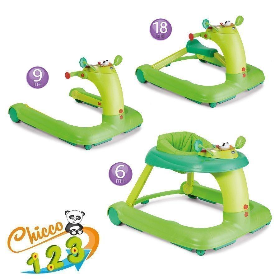 Chicco Kävelytuoli 123 Vihreä