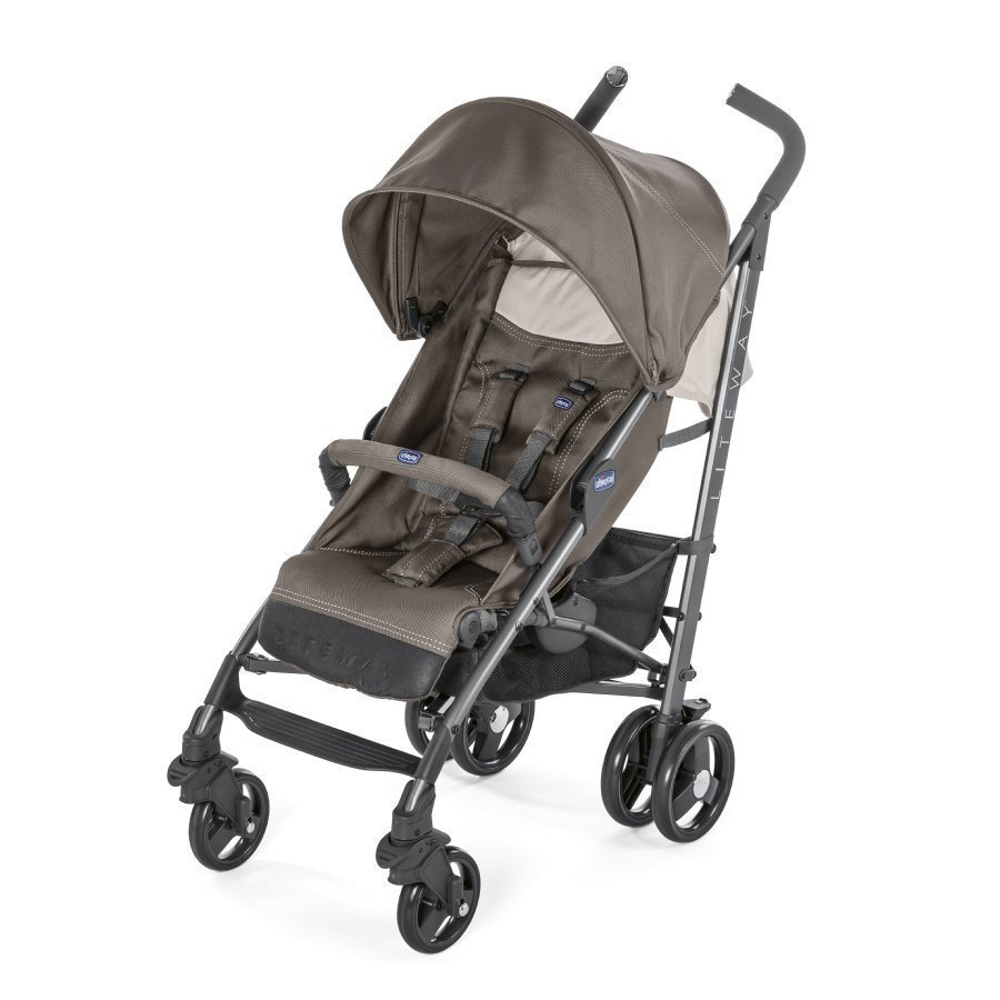 Chicco Lite Way³ Dove Grey Matkarattaat