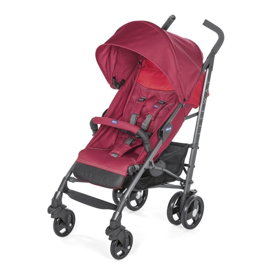 Chicco Lite Way³ Red Berry Matkarattaat