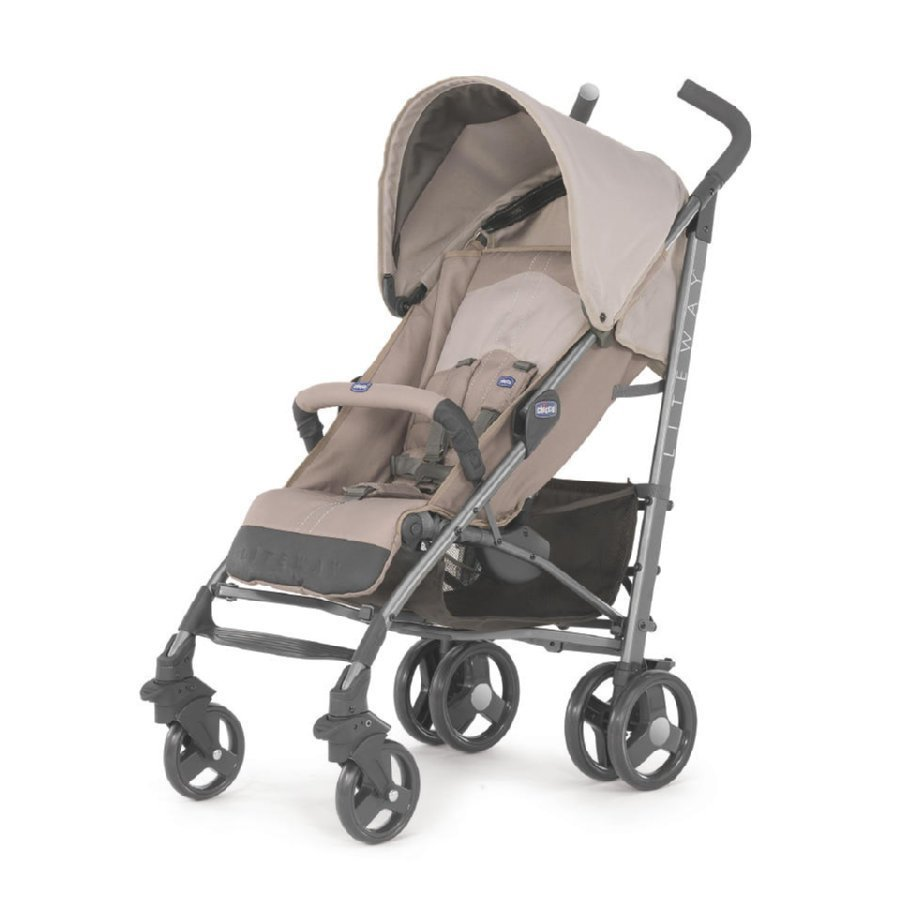 Chicco Lite Way Sand Matkarattaat + Turvakaari