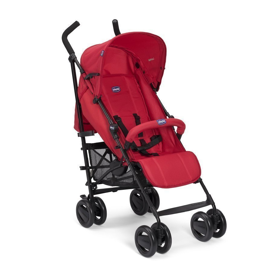Chicco London Up Red Passion Matkarattaat Turvakaarella
