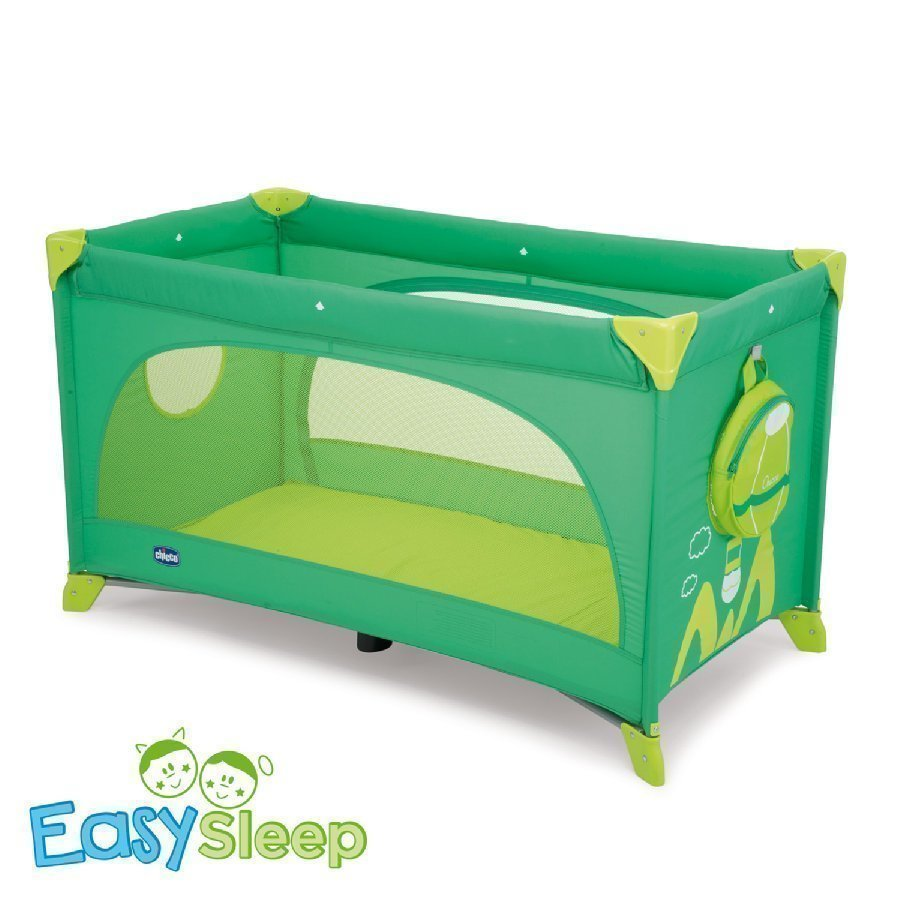 Chicco Matkasänky Easy Sleep Green Jam Mallisto 2015