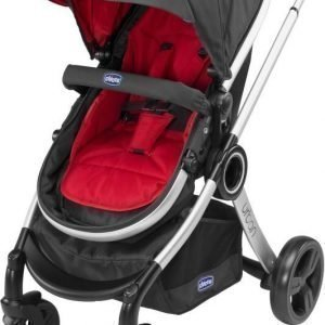 Chicco Rattaat Urban Plus Crossover Black/Red Wave