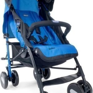 Chicco Sateenvarjorattaat sis. turvakaari Echo BB Deep Blue