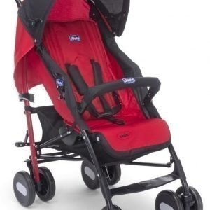 Chicco Sateenvarjorattaat sis. turvakaari Echo BB Red