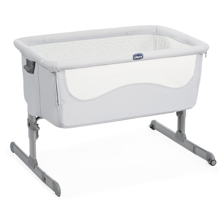 Chicco Sivuvaunusänky Next2me Light Grey