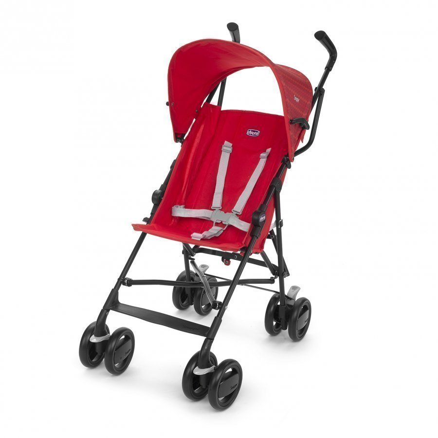 Chicco Snappy Stroller Fire Sateenvarjorattaat