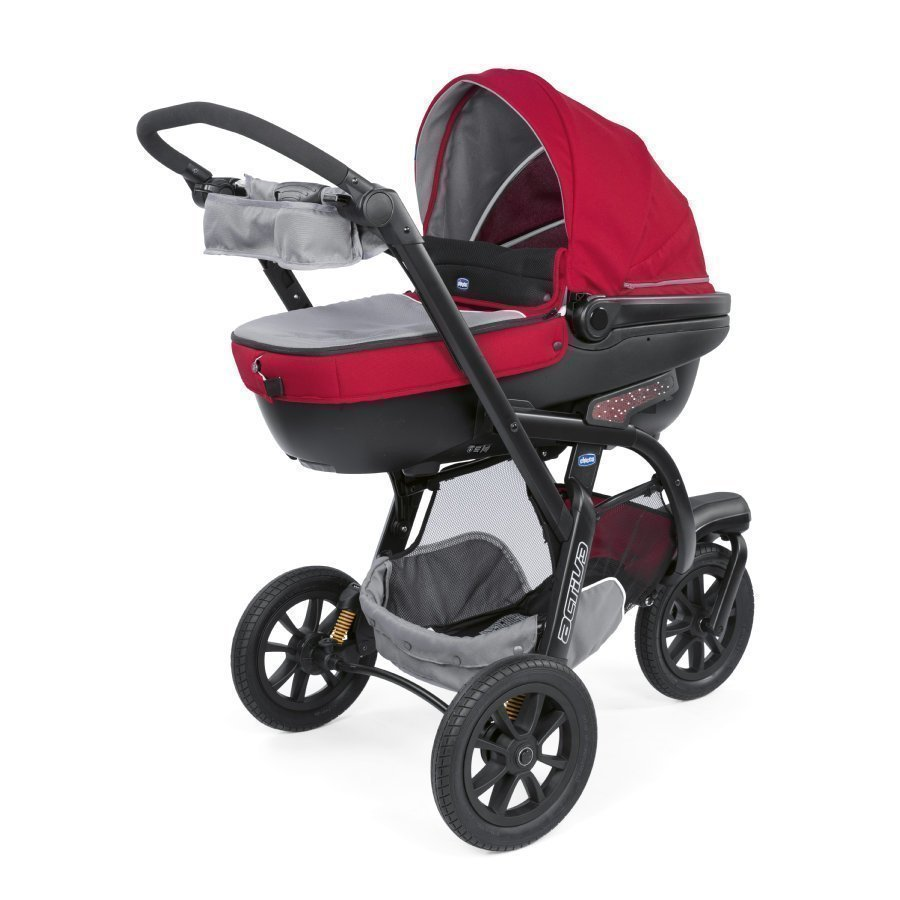 Chicco Trio Activ3 + Car Kit Red Berry Rattaat