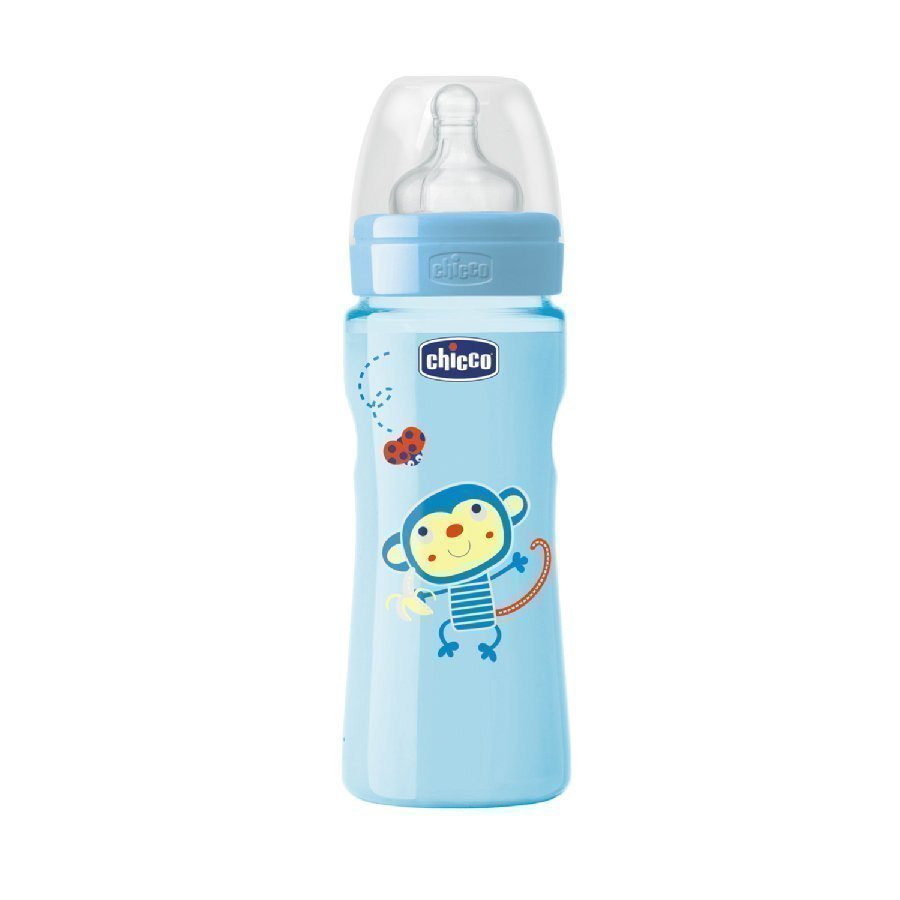 Chicco Tuttipullo Well Being 250 Ml Sininen 2 Kk+