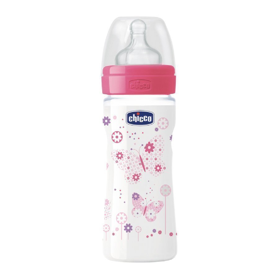 Chicco Tuttipullo Well Being 250 Ml Vaaleanpunainen 2 Kk+