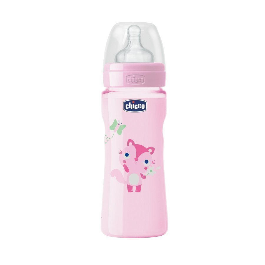 Chicco Tuttipullo Well Being 250 Ml Vaaleanpunainen 4 Kk+