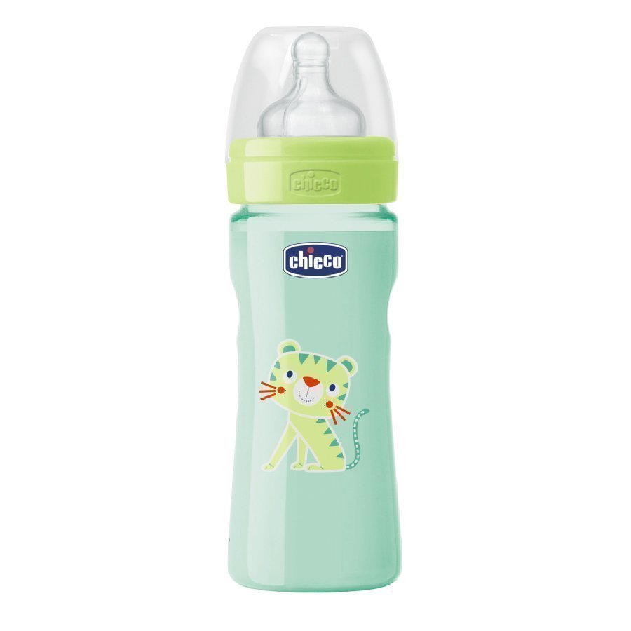 Chicco Tuttipullo Well Being 250 Ml Vihreä 2 Kk+