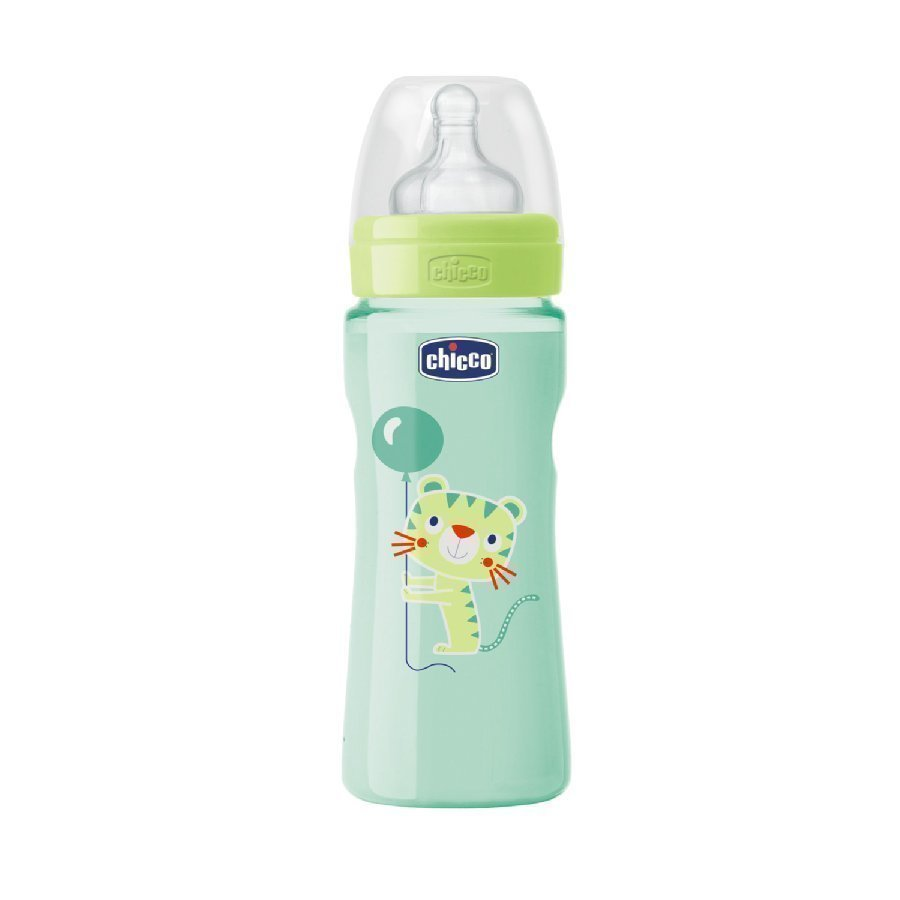 Chicco Tuttipullo Well Being 250 Ml Vihreä 4 Kk+