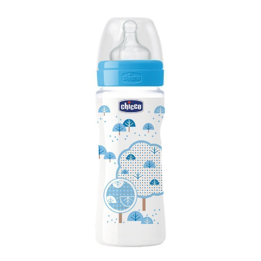 Chicco Tuttipullo Well Being 330 Ml Sininen 4 Kk+