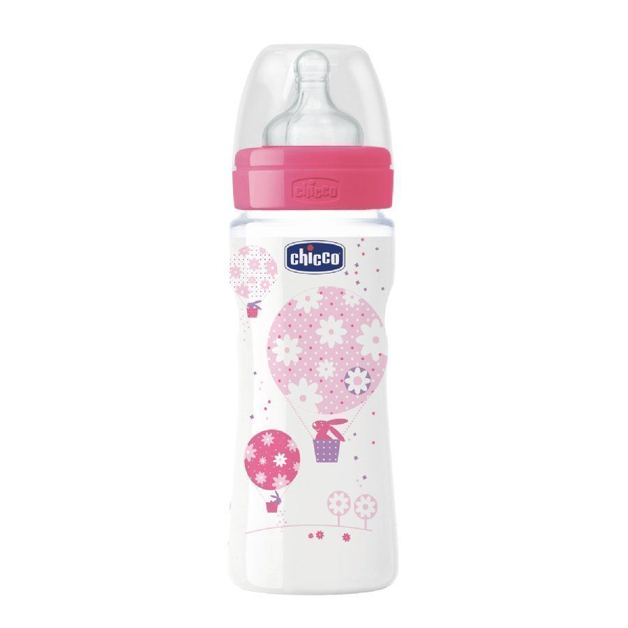 Chicco Tuttipullo Well Being 330 Ml Vaaleanpunainen 4 Kk+