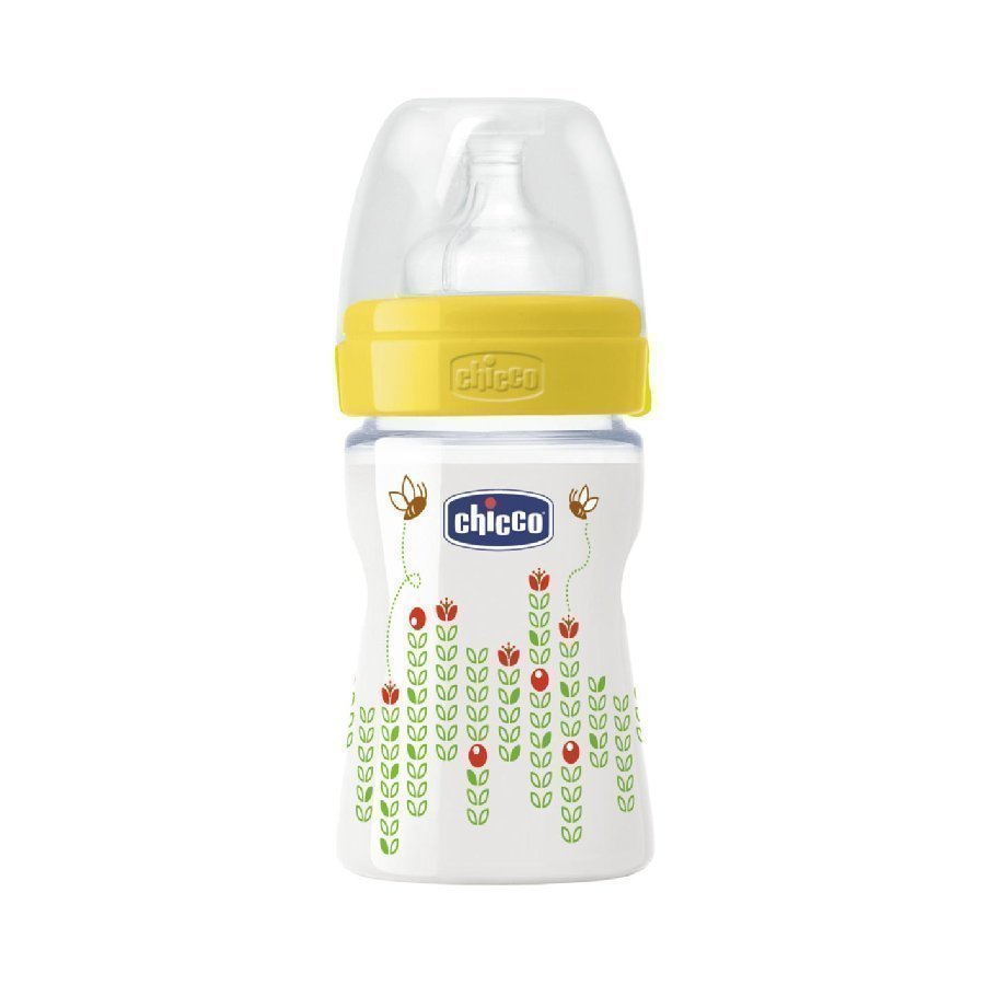 Chicco Tuttipullo Wellbeing 150 Ml 0+ Keltainen