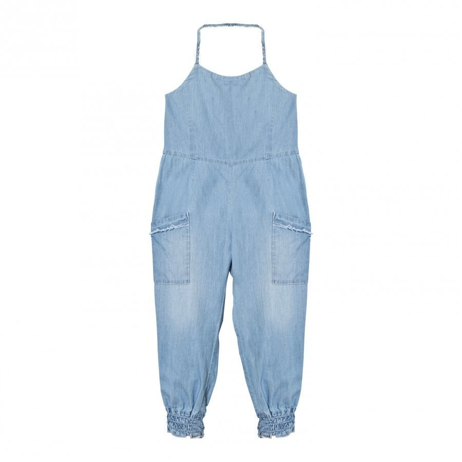 Chloé Blue Chambray Playsuit Potkupuku