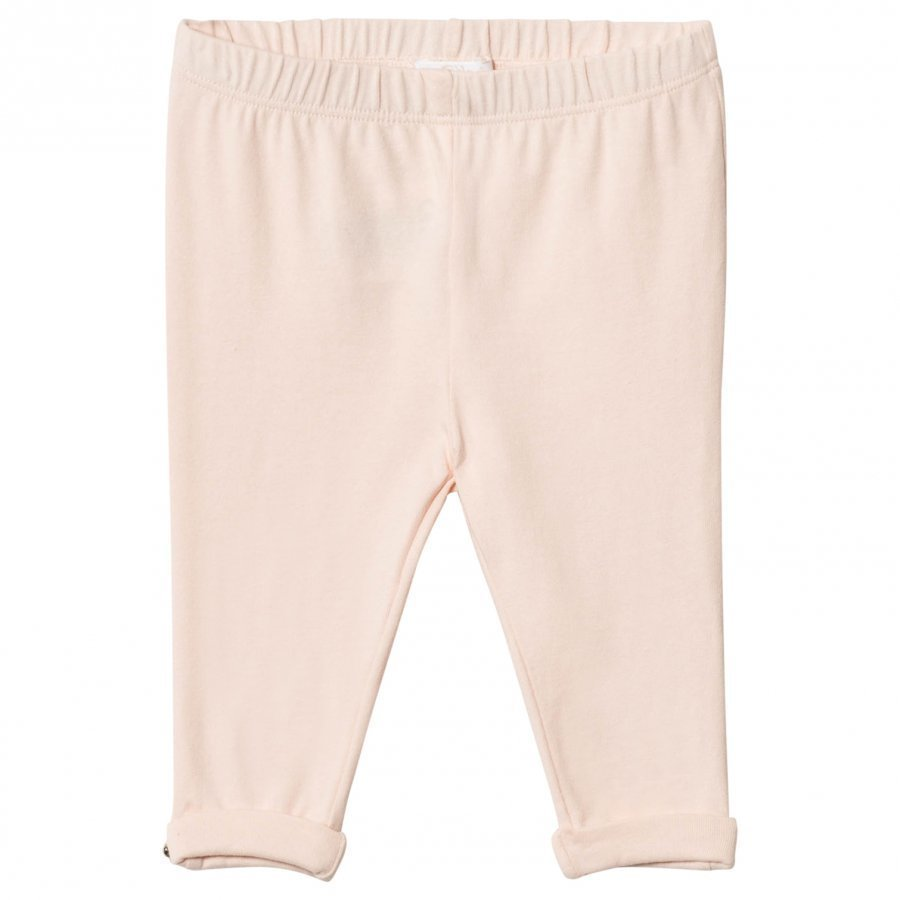 Chloé Pale Pink Legging Gold Button Detail Legginsit
