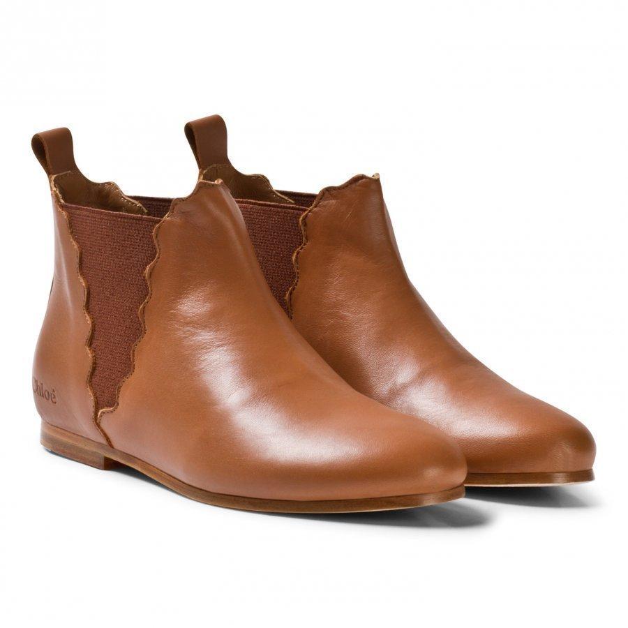 Chloé Tan Chelsea Boots Nilkkurit
