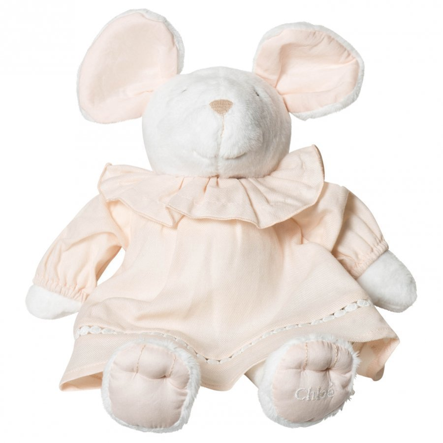 Chloé White Mouse Toy Pehmolelu