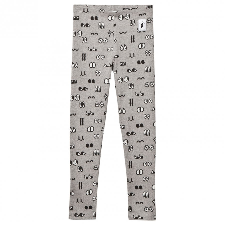 Civiliants Allover Print Leggings Grey Legginsit