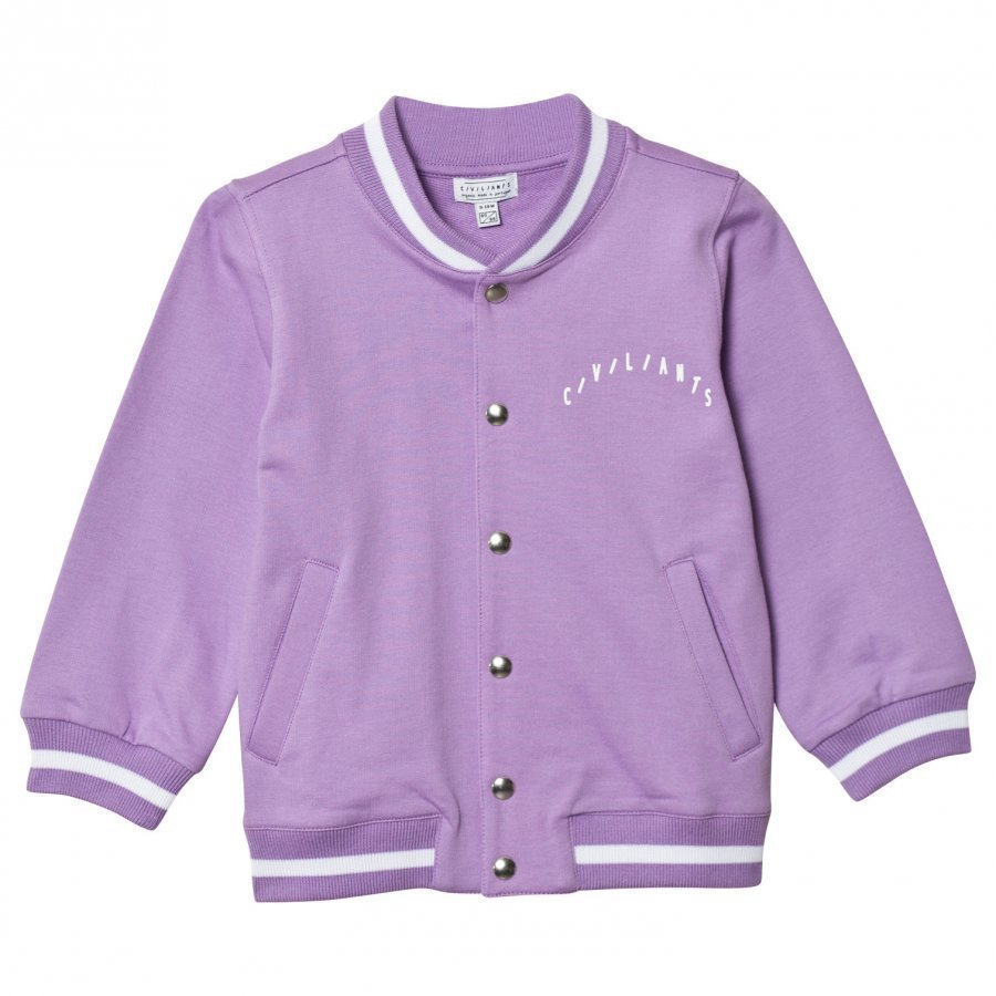 Civiliants Baseball Jacket Lilac College Takki