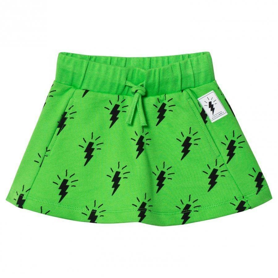 Civiliants Flash Allover Skirt Green Lyhyt Hame