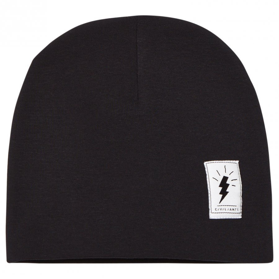 Civiliants Jersey Beanie Black Pipo