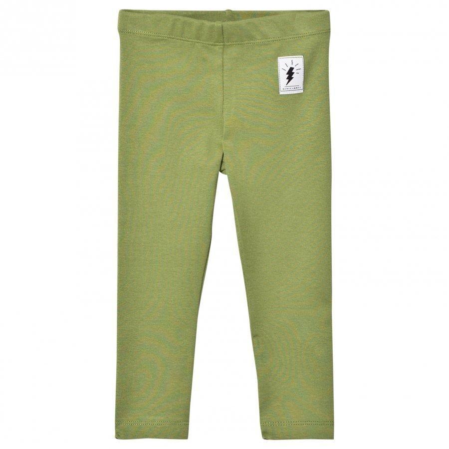 Civiliants Jersey Leggings Army Green Legginsit