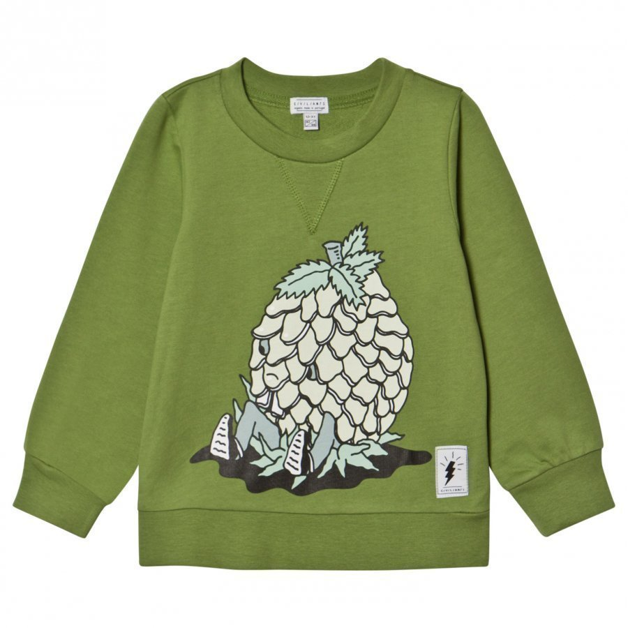 Civiliants Pineapple Print Sweater Green Oloasun Paita