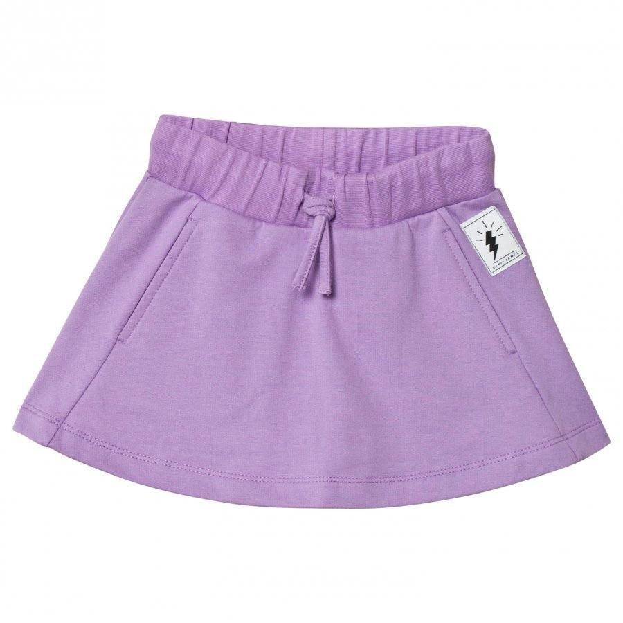 Civiliants Skirt Lilac Lyhyt Hame