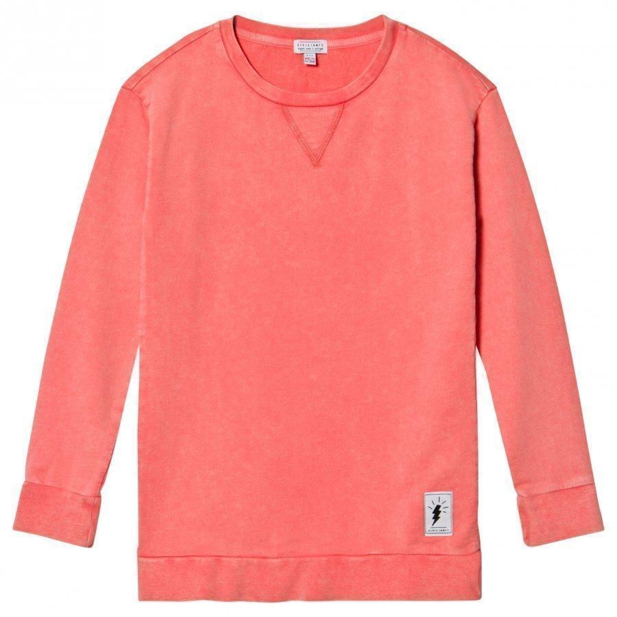 Civiliants Sweatshirt Dress Pink Mekko