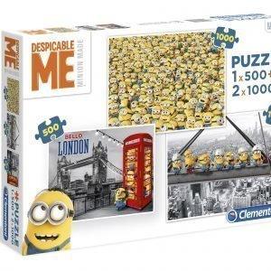 Clementoni Multipuzzle Despicable Me Palapelit 3 Kpl