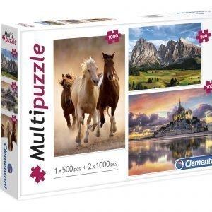Clementoni Multipuzzle Palapelit 3 Kpl